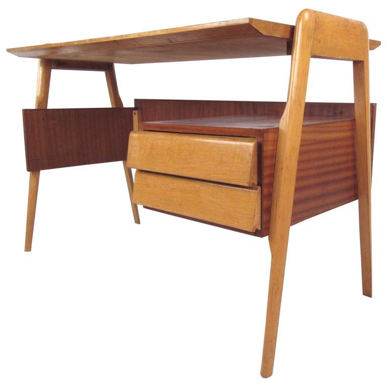 Mid-Century Italian Modern Writing Desk