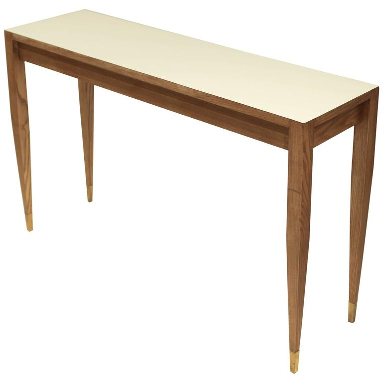 Gio Ponti A Pair of Console Tables For Sale