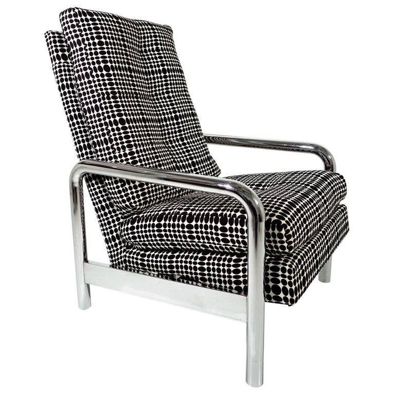 Midcentury Milo Baughman Reclining Lounge Chair