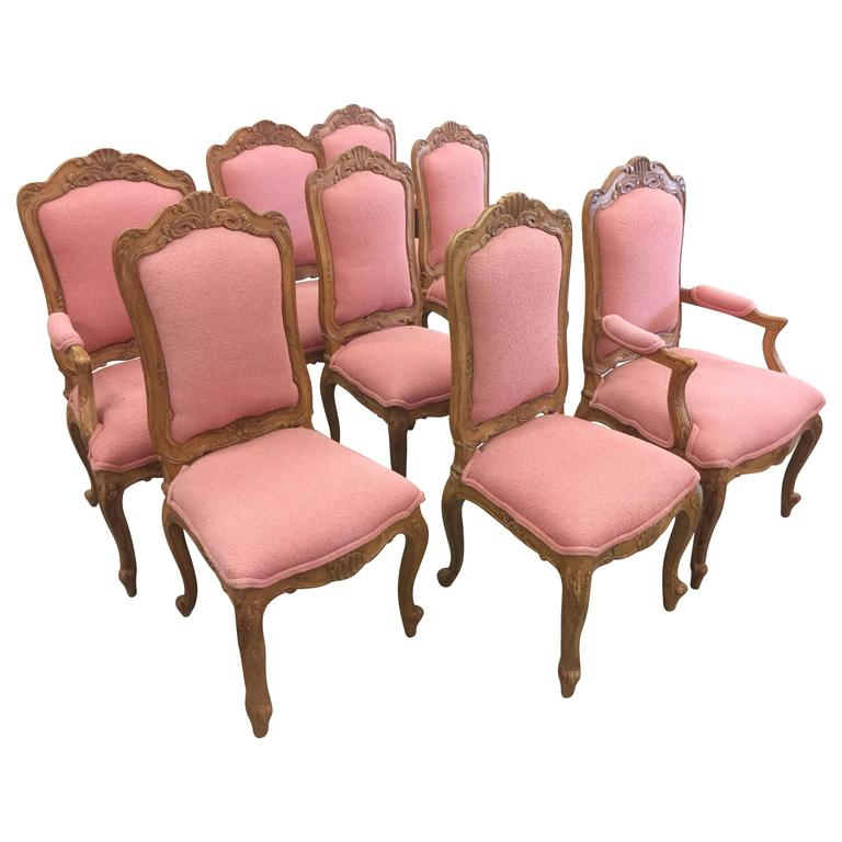 Mid 20th century french salon dining room chairs for sale for Mid 20th century furniture