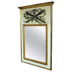 Palladio Italian Louis XVI Style Trumeau Mirror