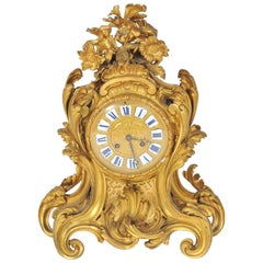 19th Century Louis XVI style Mantel Clock