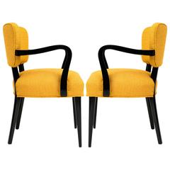 Pair of 1960s Modern Armchairs or Side Chairs in the Manner of Gilbert Rohde