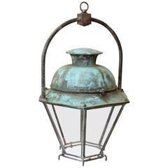 French Copper Latern