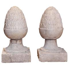 Antique Italian Garden Finials