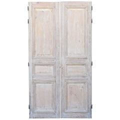 Pair of Louis XVI Pine Doors
