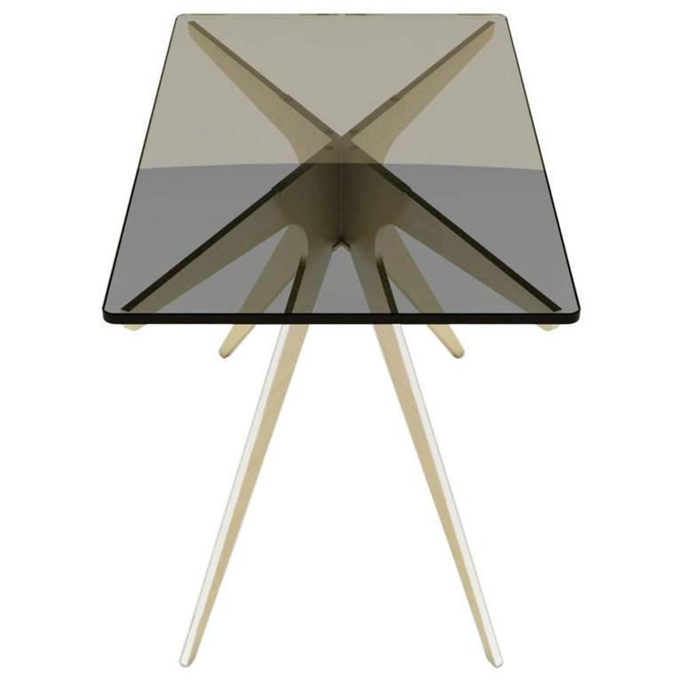 Dean Rectangular Side Table For Sale