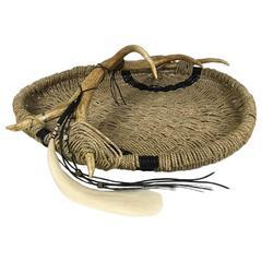 Elk Antler Basket by Dax Savage