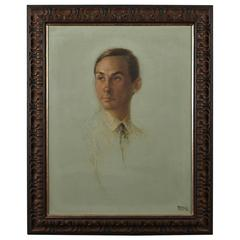 Raul Manteola, Portrait of a Gentleman, New York, 1964, Oil on Canvas