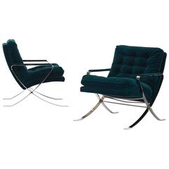 pair of lounge chairs by bernhardt furniture co bernhardt furniture reception room chairs