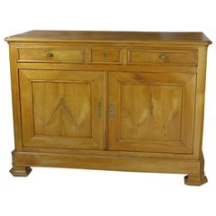 Large Louis Philippe Fruitwood Server or Buffet, France, circa 1850