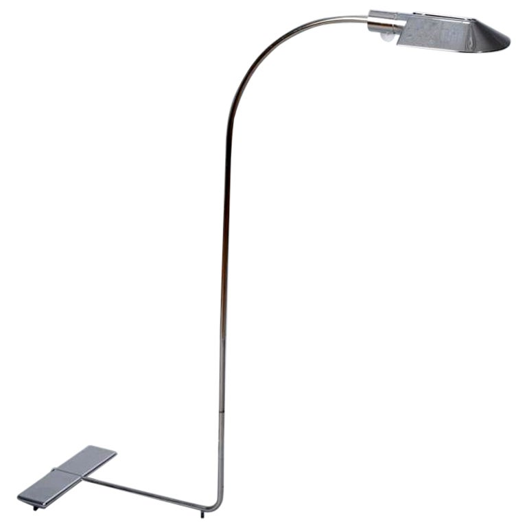 Chrome Floor Lamp by Cedric Hartman