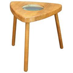 1950s Child's Magnifying Stool Table aka Ant Burner