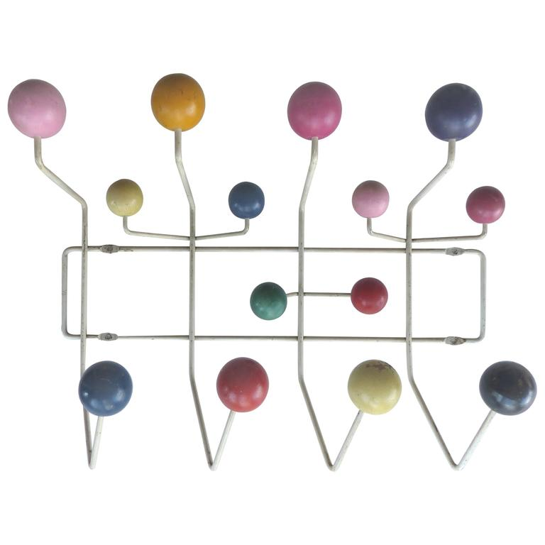 1950s original eames hang it all coat rack for sale at 1stdibs. Black Bedroom Furniture Sets. Home Design Ideas