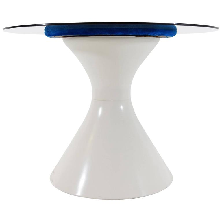 Space Age Style Dining Table by Chromecraft
