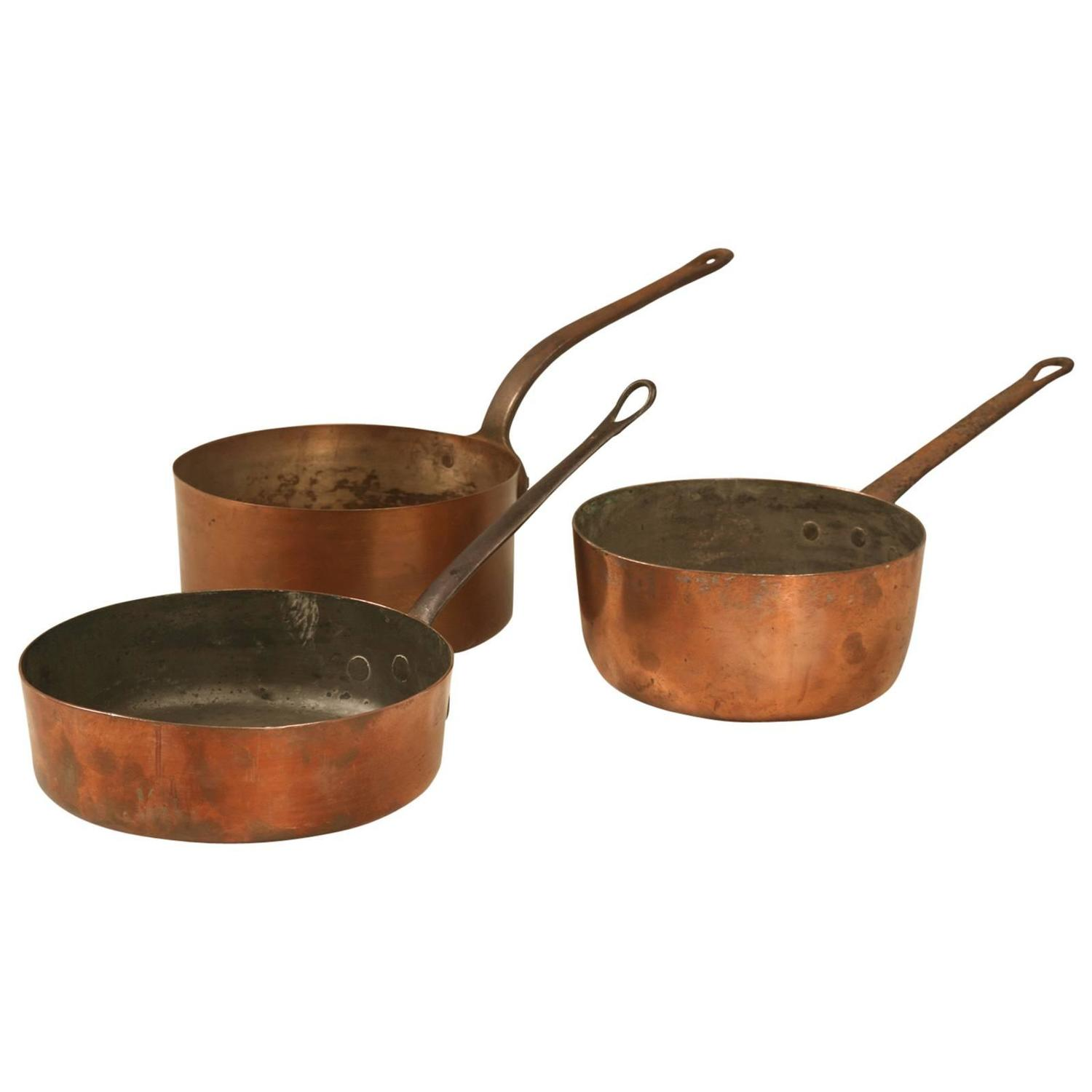 Vintage Copper Pans 87