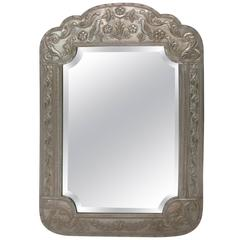 Large Metal Clad Mirror