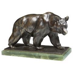 Bear Bronze by Franz Barwig, circa 1920s