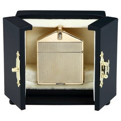 9-Carat Gold Rolls Royce Lighter by Alfred Dunhill, 1924