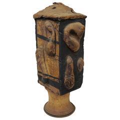 1960s Abstract Ceramic Vase