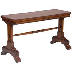 Late Regency Rosewood Sofa Table