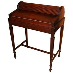 Shaw Furniture Co. Petite Roll Top Writing Desk Cambridge MA, circa 1920