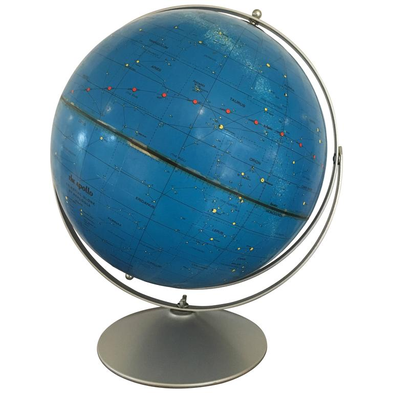 Apollo Celestial Globe, Replogle, circa 1971 For Sale
