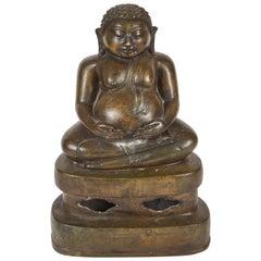 Early 20th Century Chinese Bronze Buddha