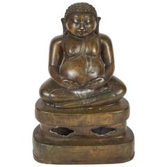 Early 20th Century Chinese Bronze Buddha