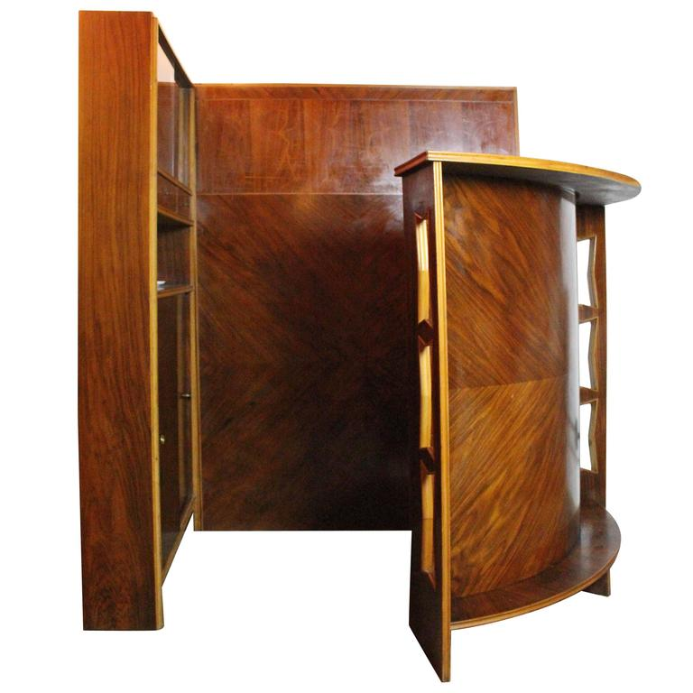 Italian Midcentury Dry Bar Buy Maritian Tagnin For Sale