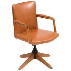 Early Desk Chair Model A721 by Hans Wegner, 1940s
