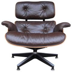 Herman Miller Eames Lounge Chair in Brazilian Rosewood