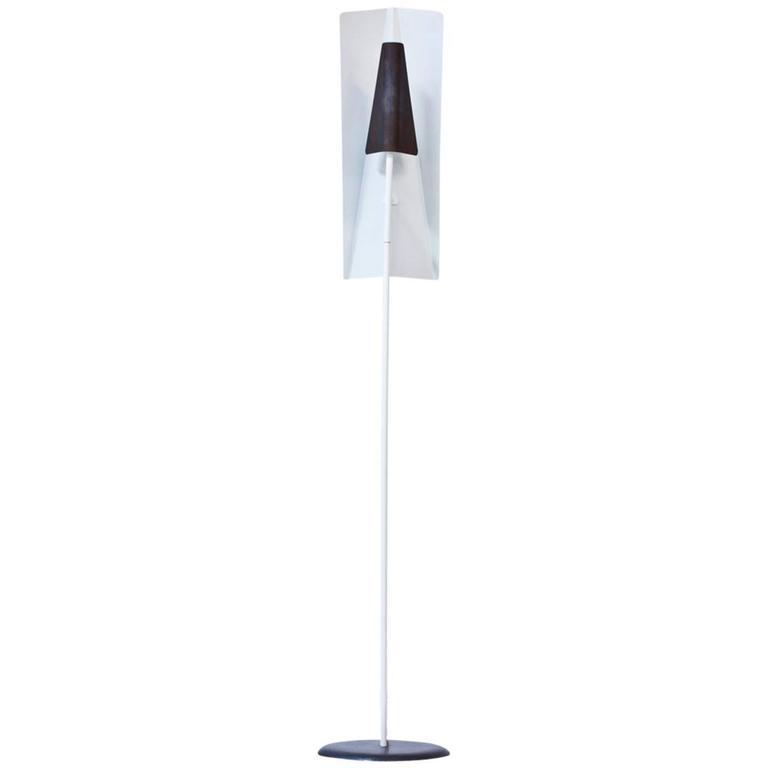 Rare Floor Lamp Attributed to Borge Lindau