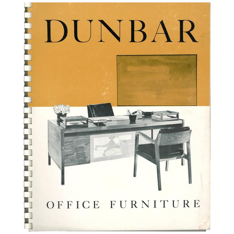 dunbar office furniture 39 book catalogue 39 for sale at 1stdibs. Black Bedroom Furniture Sets. Home Design Ideas