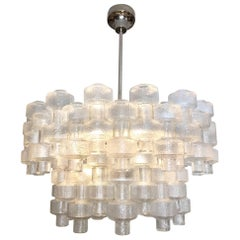 Carl Fagerlund for Orrefors Festival Crystal Chandelier
