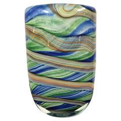 Venetian Glass Vase, circa 1970