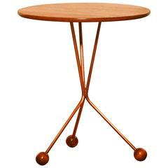 1950s, Tea Table by Albert Larsson for Alberts Tibro, Sweden