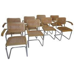 Marcel Breuer Dining Arm Chairs