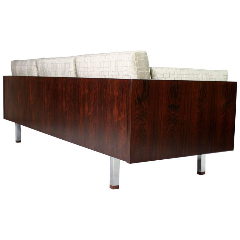 Rosewood Case Tuxedo Sofa 1