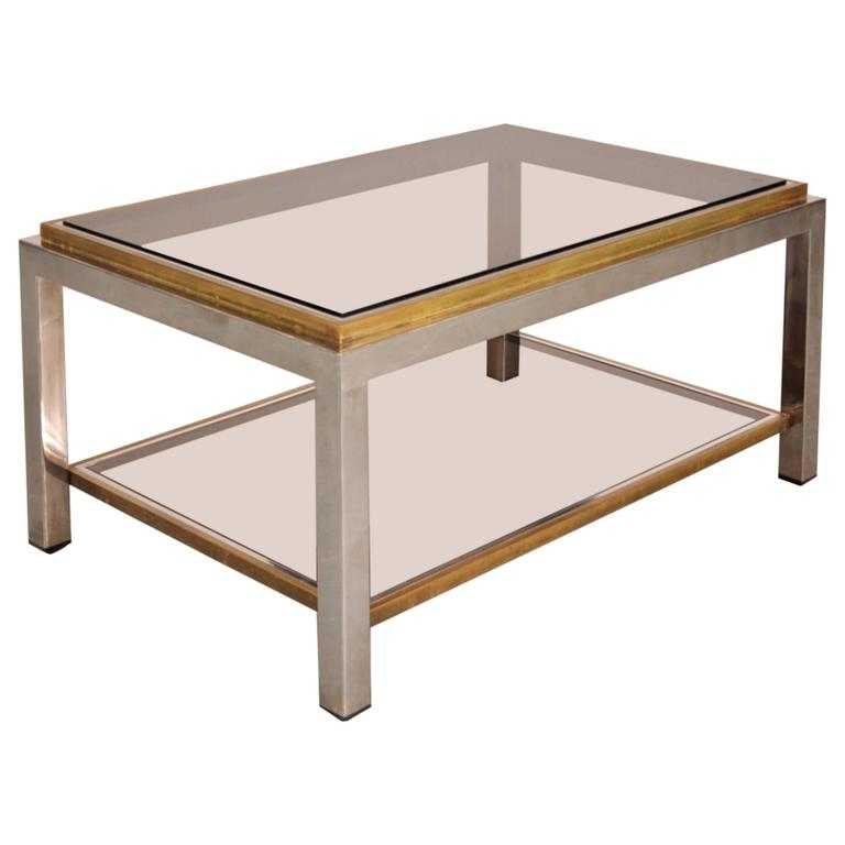 Flaminia Coffee Table By Willy Rizzo Italy Circa 1970 At 1stdibs