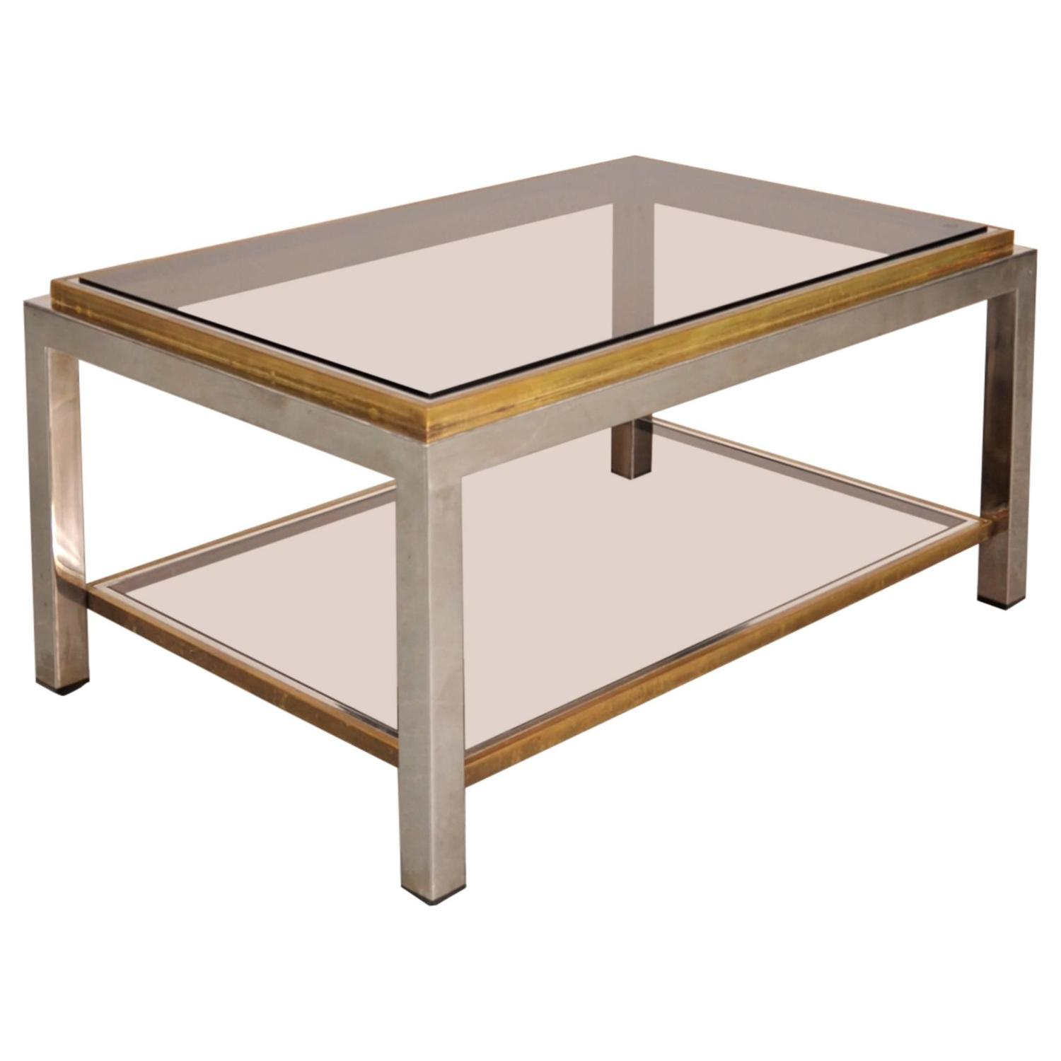 Flaminia coffee table by willy rizzo italy circa 1970 for Table willy rizzo