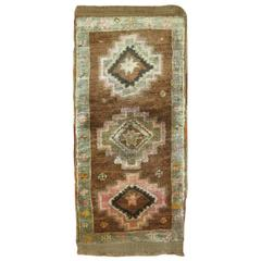 Turkish Tribal Oushak Rug Mat