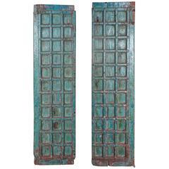 Pair of Antique Palace Doors in Original Patina