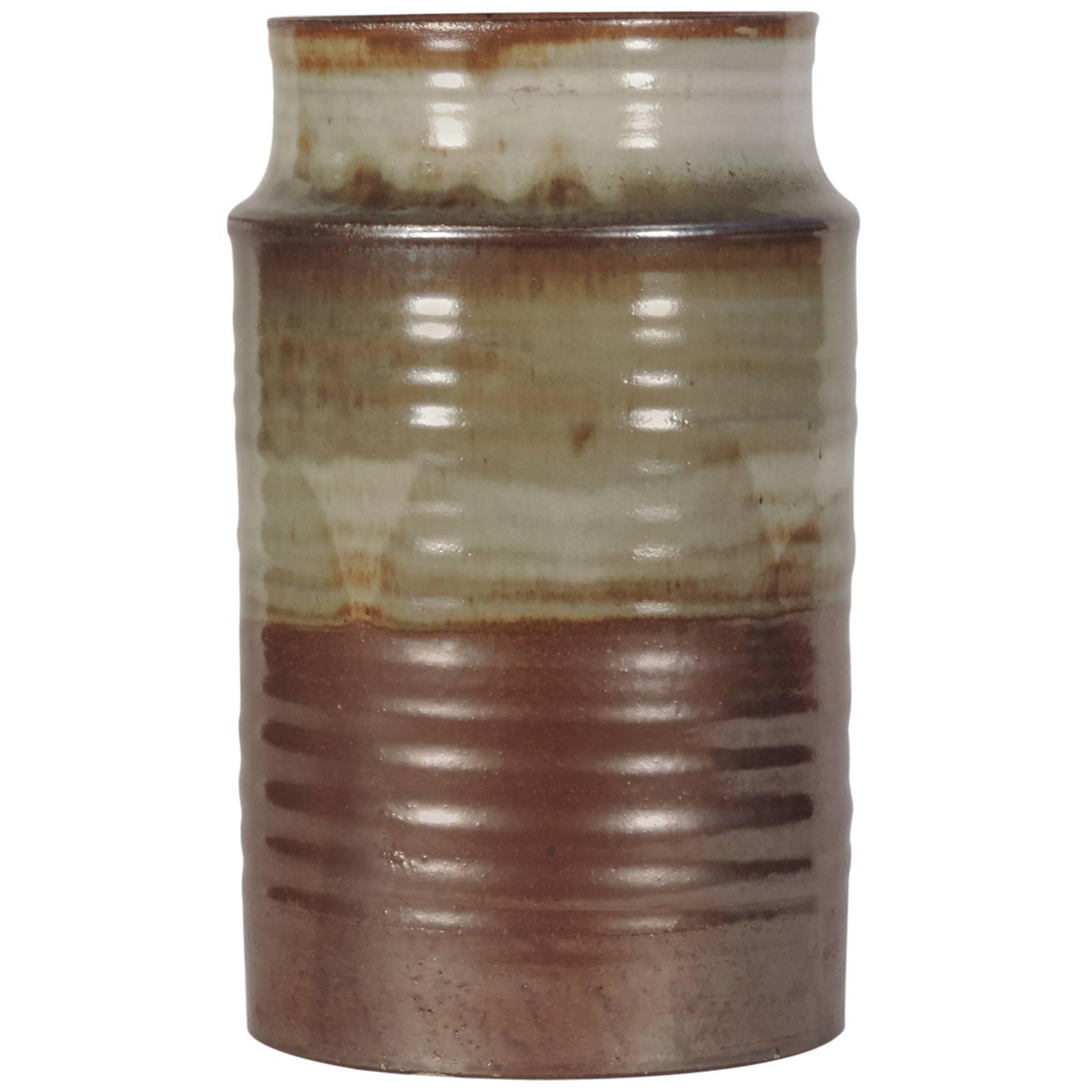 Large Ceramic Vase by Nanni Valentini for Ceramica Arcore