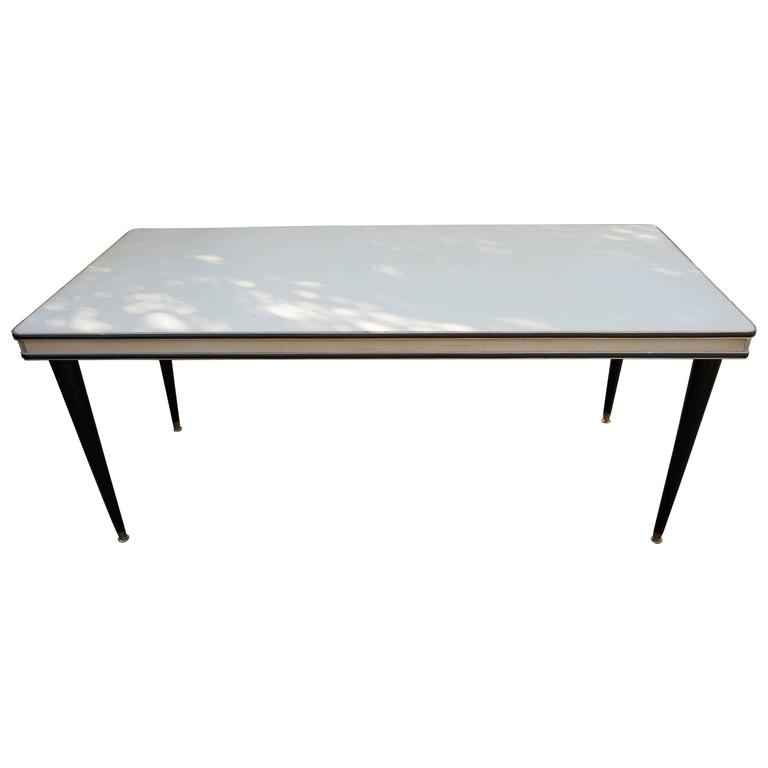 Italian 1950s Dining Table Designed by Umberto Mascagni