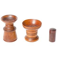 19th Century English Treen Collection