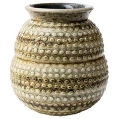 "Scandinavian Modern  Britt-Louise Sundell ""Dots"" Vase"