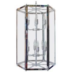 Italian Chrome Lantern