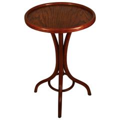 Turn of the Century Thonet Taboret Table