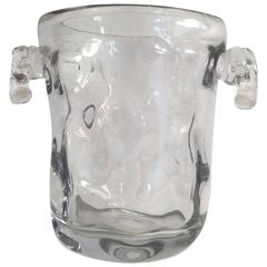 French Crystal Wine or Champagne Bucket
